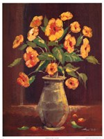 Flowers in a Vase I Fine Art Print