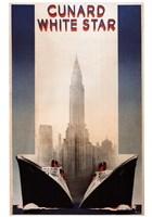 Cunard Framed Print