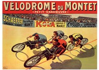 Velodrome du Mont Fine Art Print