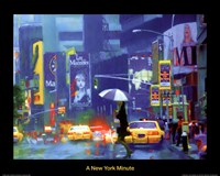 New York Minute Fine Art Print