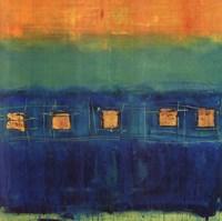Blue Train Fine Art Print