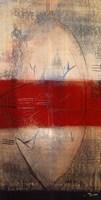 Lignes Rouges I Fine Art Print