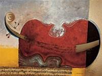 Le Repos Du Violon Fine Art Print