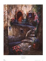 Amalfi Coast Passage Fine Art Print