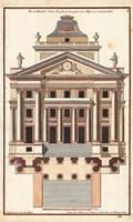 Palladio Facade I Fine Art Print