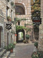 Italian Country Village II Fine Art Print