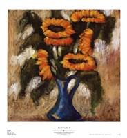 Los Girasoles I Fine Art Print