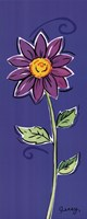 Purple Daisy Fine Art Print