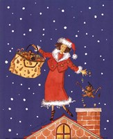 Mrs.Claus Fine Art Print
