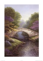 Springtime Bridge Fine Art Print