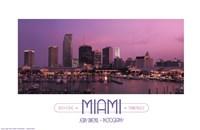 Miami Fine Art Print
