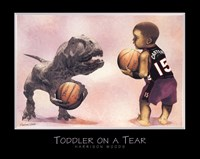 Toddler on a Tear Fine Art Print