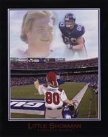 Little Showman - Jeremy Shockey Framed Print