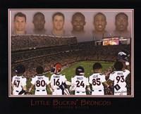 Little Buckin' Broncos Fine Art Print