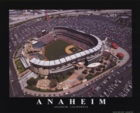 Anaheim - Angel's Edison Field Fine Art Print