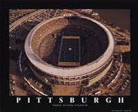 Pittsburgh - Three Rivers Stadium Fine Art Print