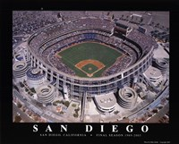 Qualcom Stadium-San Diego Framed Print