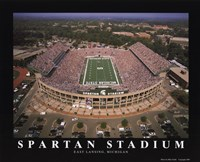 Spartan Stadium - Michigan State Fine Art Print