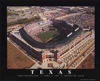Texas - Arlinton Framed Print