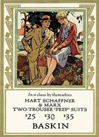 Hart Two Trouser Fine Art Print