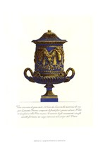 Blue Urn I Fine Art Print