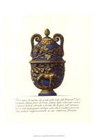 Blue Urn II Fine Art Print