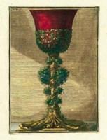 Red Goblet I Fine Art Print