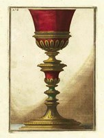 Red Goblet IV Fine Art Print