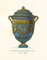 Blue Urn IV Fine Art Print