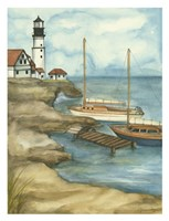 Sunday Sail I (PT) Fine Art Print