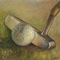 The Putter (P) Fine Art Print
