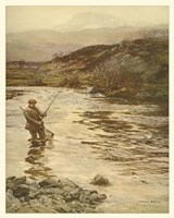 Trout Fishing Fine Art Print