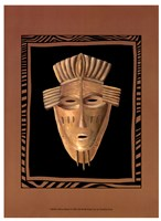 African Mask I Fine Art Print