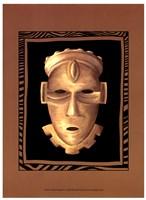 African Mask IV Fine Art Print