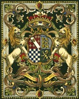 Crest on Black II Fine Art Print