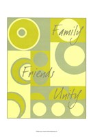 Circle of Friends I Fine Art Print