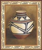 Southwest Pottery I Fine Art Print