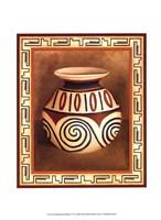 Southwest Pottery IV Fine Art Print