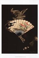 Oriental Fan I Fine Art Print