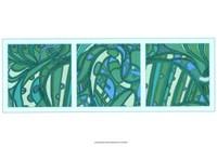 Aqua Fission I Fine Art Print