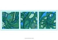 Aqua Fission II Fine Art Print
