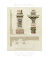 Palais de Fontainbleu II Fine Art Print