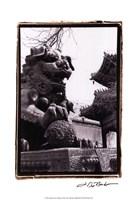 Imperial Lion, Beijing Fine Art Print