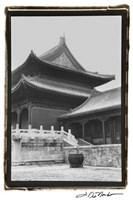 Palace Rooftops, Beijing Fine Art Print