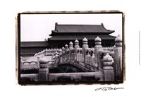 Palace Bridge, Beijing Fine Art Print