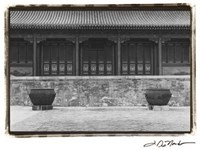 Chinese Symmetry, Beijing Fine Art Print