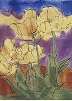 Floral Fantasy III Fine Art Print