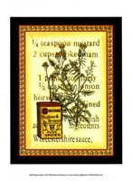 Spice Recipe I Fine Art Print