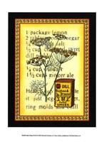 Spice Recipe III Fine Art Print