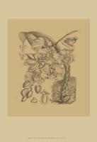 Orchid on Khaki(WG) VIII Fine Art Print